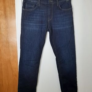 MAVi Mens straight Leg Dark Sz 33/30